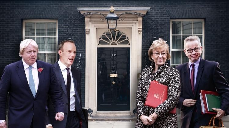 Resultado de imagen para Fotos de los aspirantes al cargo de Primer Ministro en Reino Unido