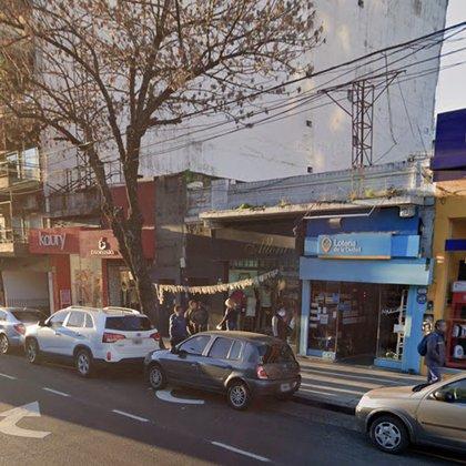 La zona donde se cometió el asalto es en el pleno centro de Villa Urquiza.
