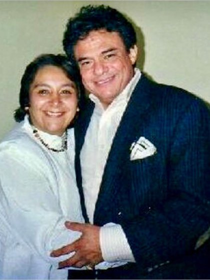 Laura Nüñez y José José