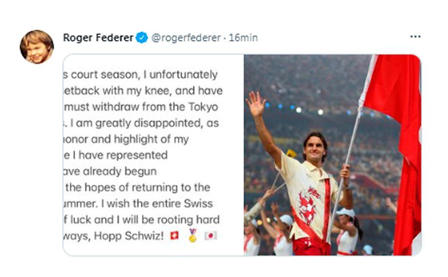 Federer Juegos Olímpicos