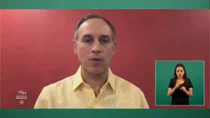 (Foto: captura de pantalla YouTube/ Secretaría de Salud México)