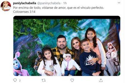 La familia que han formado Karla Panini y Américo Garza