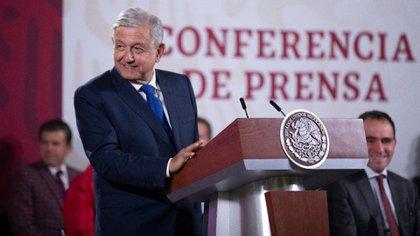 Lopez Obrador no ha manifestado síntomas de COVID-19 (Foto: Presidencia de la república)