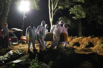 307.112 brasileños que han muerto de Covid-19 desde el inicio de la pandemia