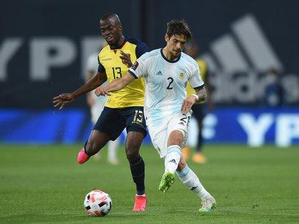 Lucas Martínez Quarta es una de las fijas de Lionel Scaloni en la Selección (REUTERS/Marcelo Endelli)