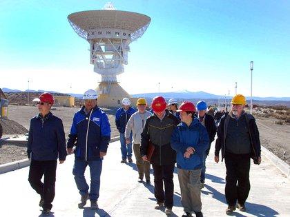 No trascendió si en la charla de Fernández con el embajador de China se habló de la estación espcial en Neuquén (Télam)