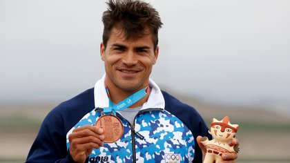 Rubén Rézola viene de ser medallista en los últimos Juegos Panamericanos de Lima, en Perú (Lima 2019)