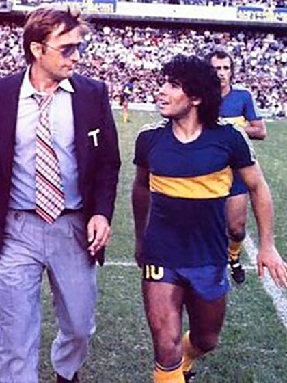 Estuvo al frente del Boca campeón de 1981 con Maradona como estrella