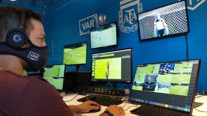 El VAR funcionará desde un centro tecnológico en Ezeiza