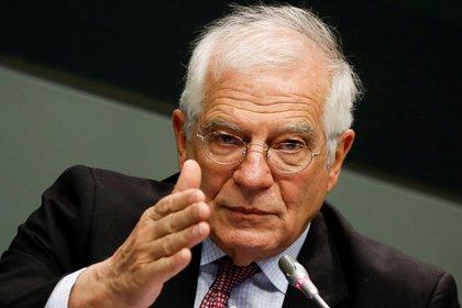 Josep Borrell, alto representante de la Unión Europea (UE) para la Política Exterior (EFE/David Fernández)