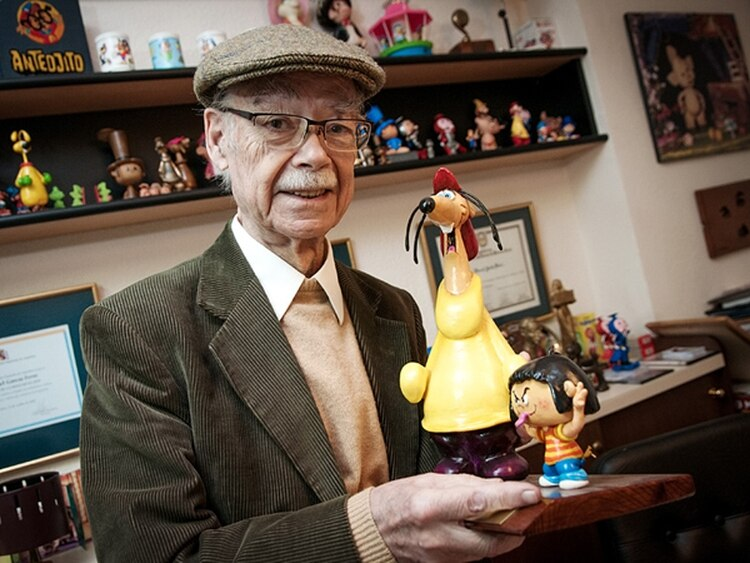 Manuel García ferré creó personajes que formaron parte d ela infancia de casi tres generaciones: Hijitus, Neurus, Largirucho...