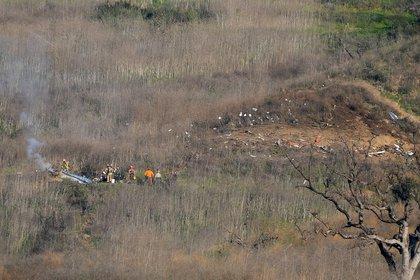 Los 9 pasajeros del helicóptero murieron en el acto (Jayne Kamin-Oncea-USA TODAY Sports)