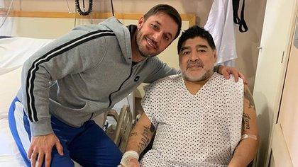 Matías Morla y Diego Maradona (Foto: Instagram)