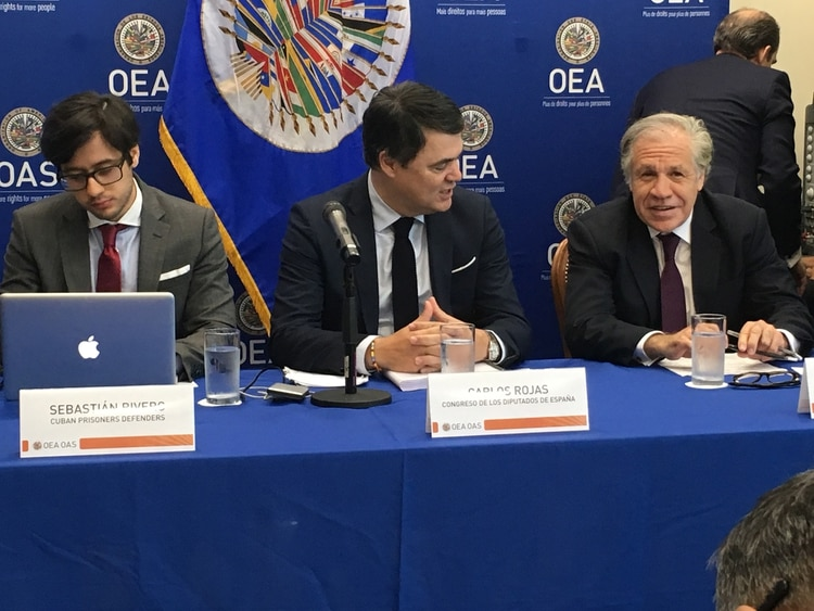El panel de este martes en la sede de la OEA en el que se denunció a las misiones médicas cubanas