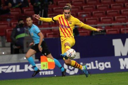 Griezmann anotó un golazo en la victoria del Barcelona Foto EFE / Juanjo Mart�n/Archivo