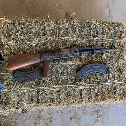 La Secretaría de Relaciones Exteriores (SRE)  estimó que más de 2.5 millones de armas han cruzado la frontera en la última década. (Foto: Cortesía Fiscalía General de la República)