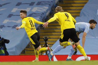 Reus había marcado el 1 a 1 parcial (Reuters)