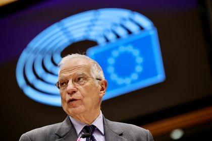 Josep Borrell, Alto Representante para la política exterior de la Unión Europea (Olivier Matisse / Paul vía Reuters)