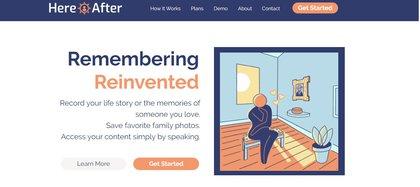 HereAfter propone hacer entrevistas para generar una versión digital de la persona con la cual se podrá interactuar como se hace con los asistentes virtuales
