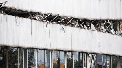 """El documental """"S19"""" muestra el daño que causó el sismo en los edificios que no respetaron las reglas de construcción (Foto: Cuartoscuro)"""