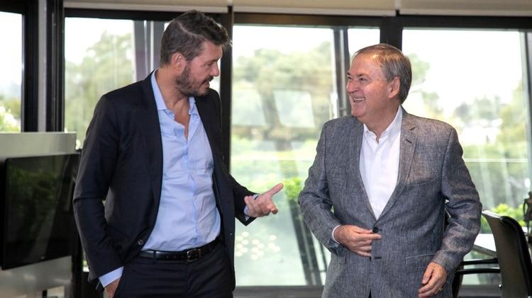 Tinelli y Schiaretti se reunieron recientemente en Córdoba. Podría haber una nueva reunión en las próximas horas