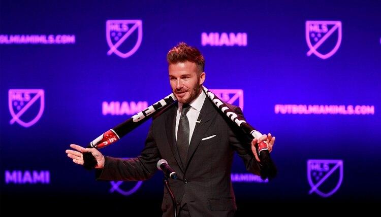 El equipo de Beckham debutará el 14 de marzo (Reuters/ Andrew Innerarity/File Photo)