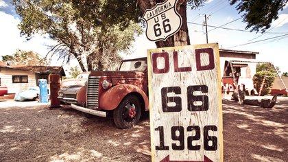 El mítico trayecto de la Ruta 66 que une Chicago con California es uno de los más icónicos