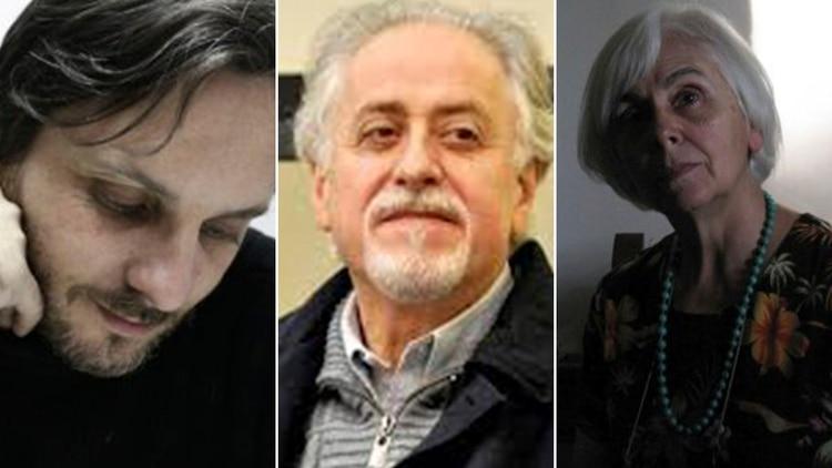 Tres poetas argentinos: Diego Arbit, Jorge Boccanera e Inés Aráoz