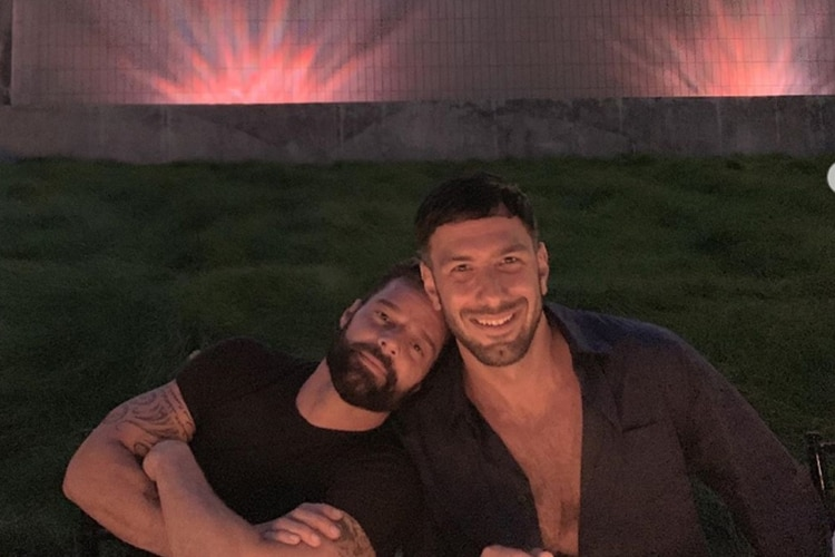 Ricky Martin celebró el cumpleaños de su esposo junto con amigos (Foto: Instagram)
