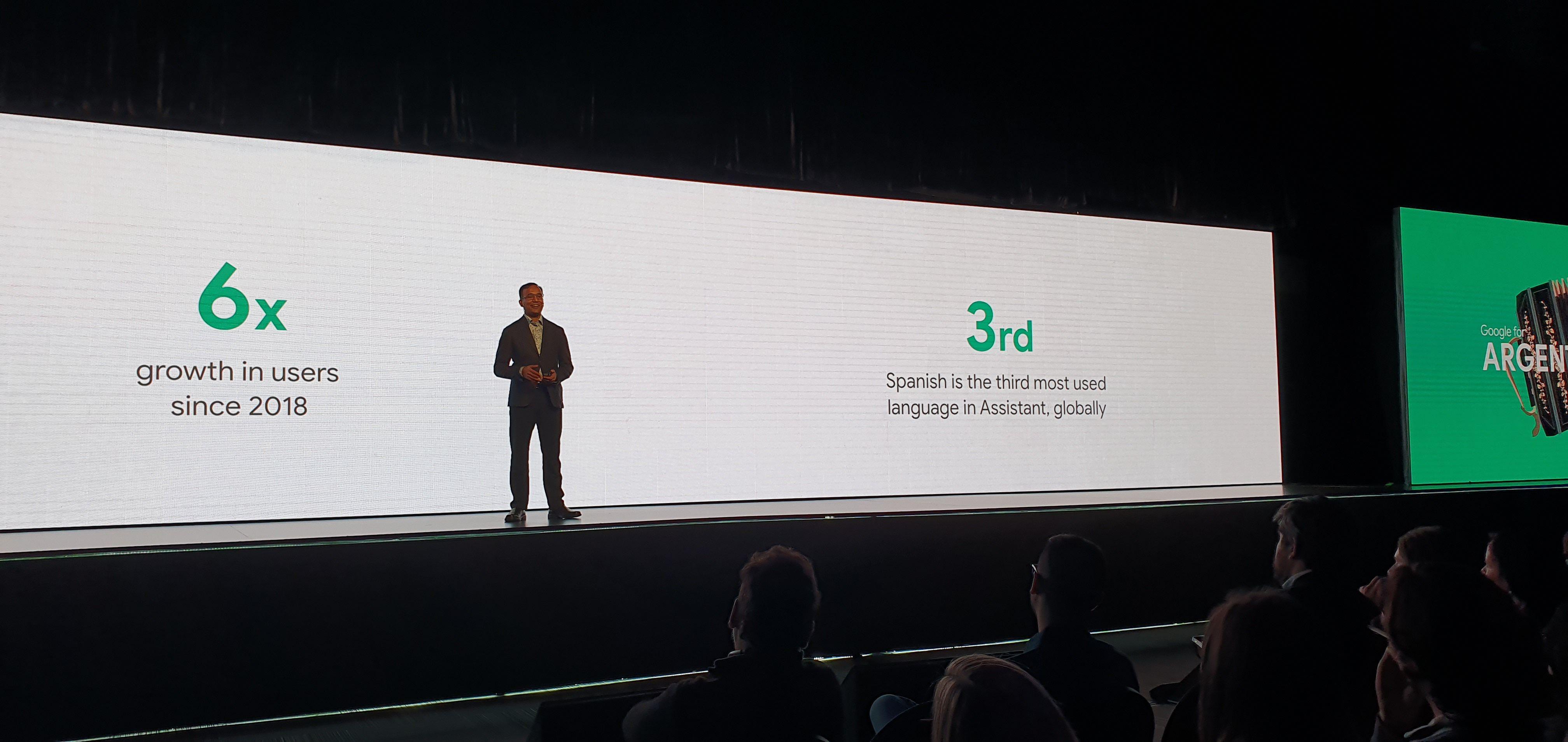 Nitin Khandelwal, ingeniero principal para Google Assistant.