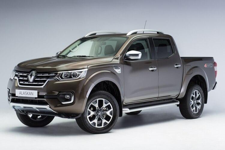La pick-up Alaskan, que se va a fabricar en Córdoba