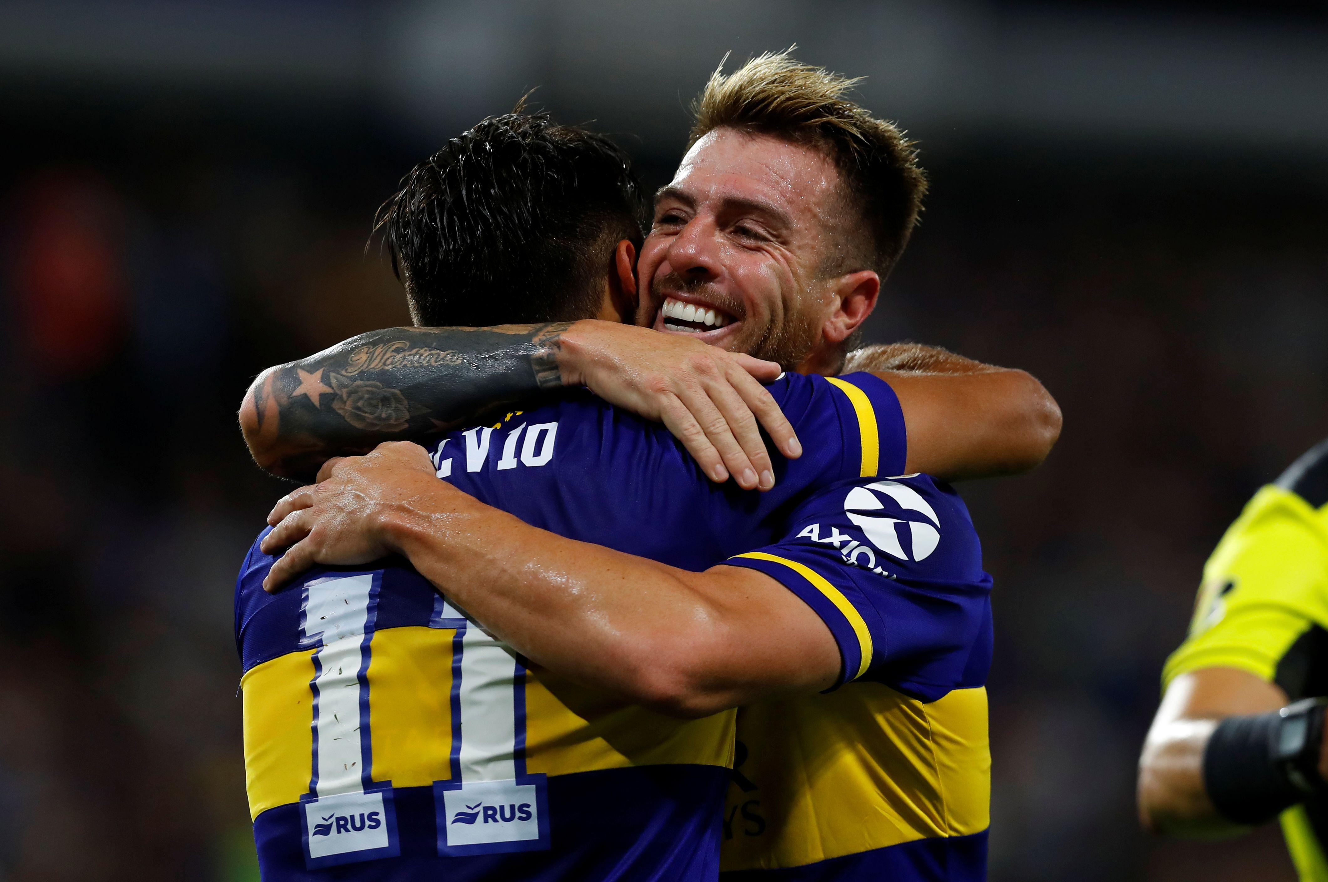 Buffarini pretende un año más de contrato con respecto a la propuesta de Boca: quiere firmar hasta 2023 (REUTERS/Agustin Marcarian)