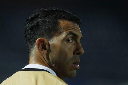 Tevez se centra en su presente futbolístico y está obsesionado con ganar la Séptima Libertadores de Boca (REUTERS/Jorge Saenz)