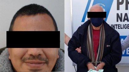 Ernesto Córdoba y Oscar Carballo, acusados de abuso de menores y detenidos en la cuarentena.