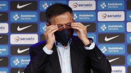 Bartomeu habló del presente y futuro del Barcelona - EFE/Alejandro García.