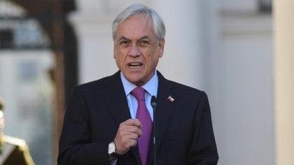El presidente chileno Sebastián Piñera