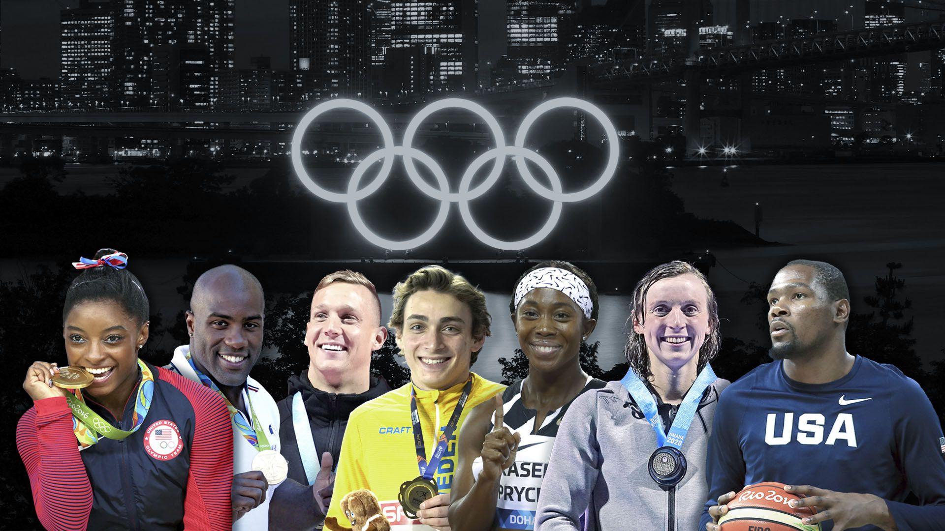 collage portada atletas juegos olimpicos 2