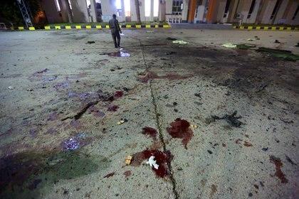 Ataque militar en Trípoli (Mahmud TURKIA / AFP)