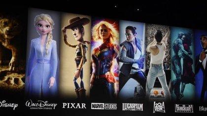 Pixar, Marvel, Star Wars y National Geographic estarán en la plataforma (Foto: Twitter/APowerfulFist)