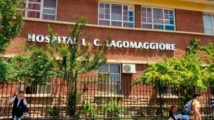 El centro de salud donde las víctimas se encuentran internadas.