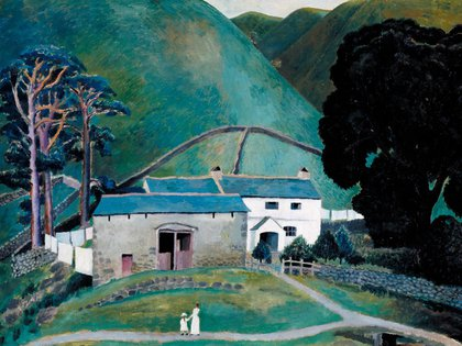 Farm at Watendlath 1921 Dora Carrington 1893-1932 Presented by Noel Carrington, the artist's brother 1987 http://www.tate.org.uk/art/work/T04945