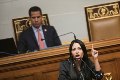 Delsa Solorzano, diputada para la Asamblea Nacional y presidenta del partido Encuentro Ciudadano (REUTERS/Manaure Quintero)