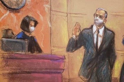 Cienfuegos fue detenido en octubre en Estados Unidos y presentado ante las autoridades de la corte de Brooklyn (Reuters)