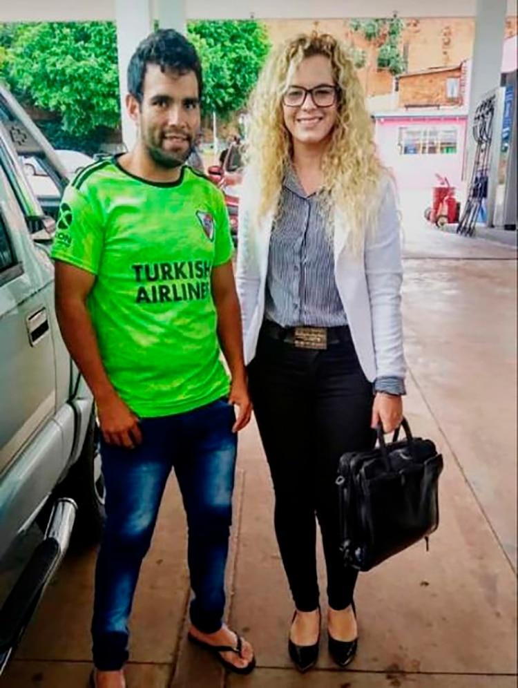El joven de 23 años estuvo acompañado por su abogada, Blanca Núñez