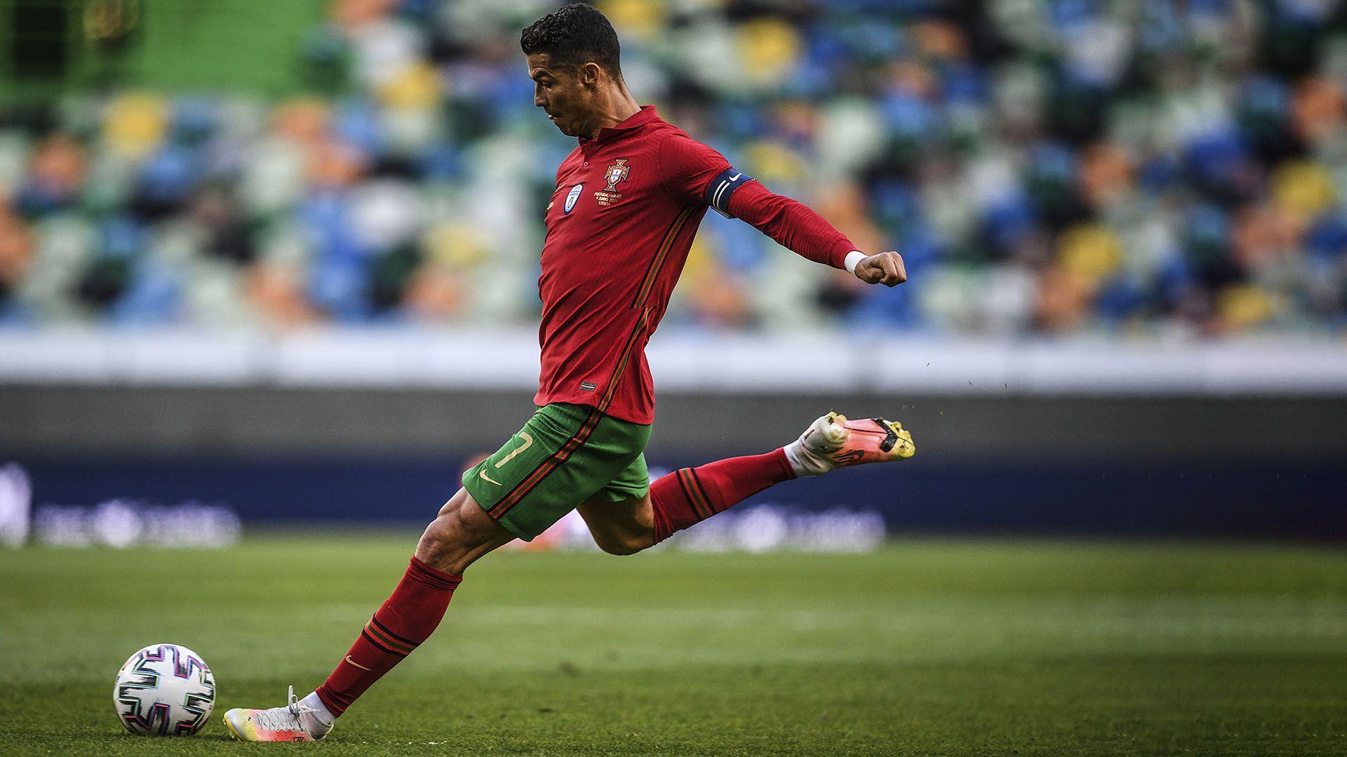 El tiro libre de Ronaldo que se volvió viral