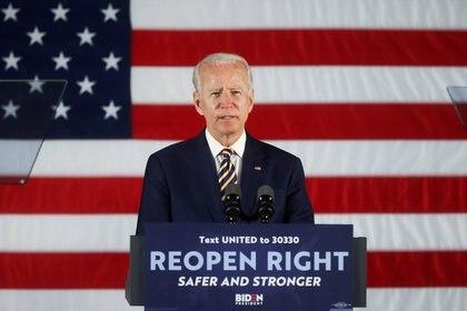 Joe Biden podría ser el primer presidente de la