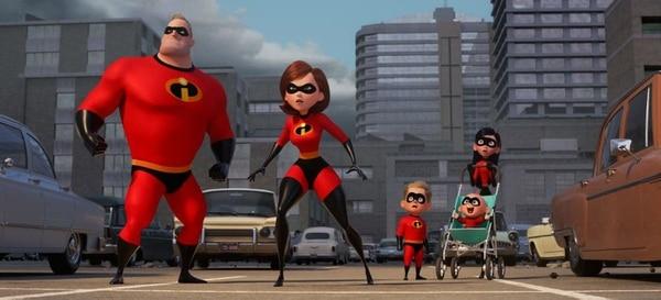 """""""Incredibles 2"""", Disney – Pixar."""