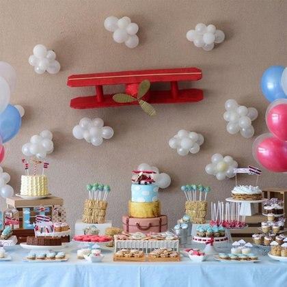 La genial mesa dulce. (Foto: Instagram)