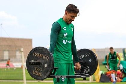 """Los malos resultados no son por """"falta de ganas"""", aseguró Josecarlos Van Rankin (Foto: Cortesía/ Club Santos)"""
