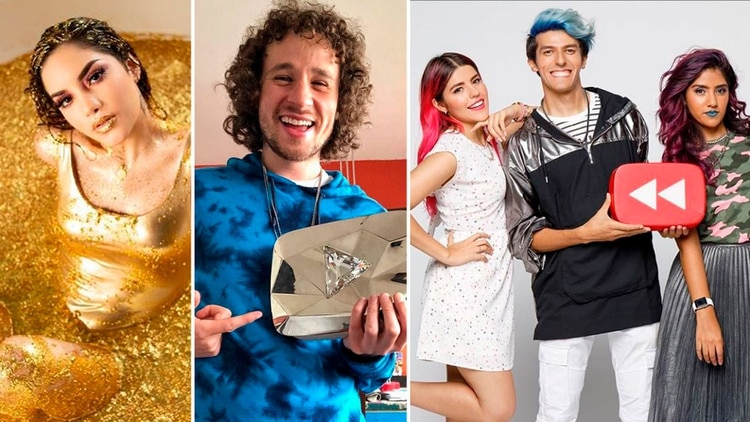 Luisito, Yuya, Los Polinesios    Los 10 canales de YouTube